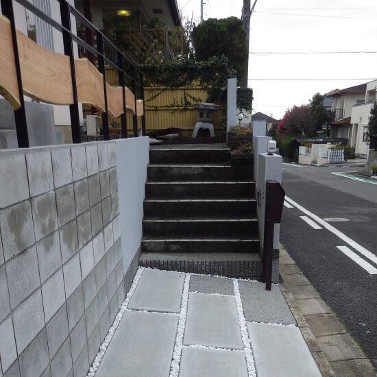和泉市 ガーデンリフォーム 駐車場