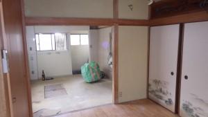 熊取町 リノベーション 快適空間 施工前