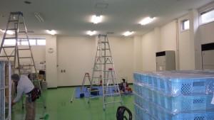 和泉市 営繕 パーテーション 間仕切り 施工前