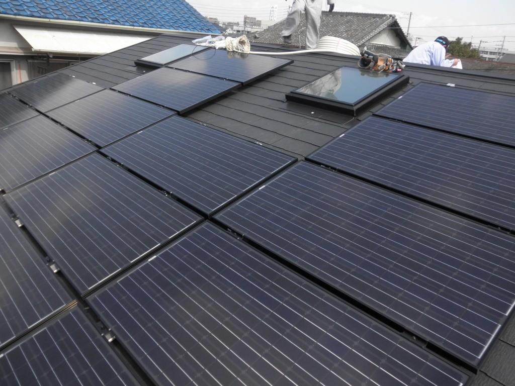 高石市 リフォーム 太陽光発電