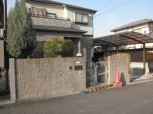 堺市 外構 エクステリア 駐車場 施工前